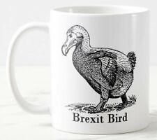 Brexit Bird Mug, 11 oz Large Handle Ceramic Tea/Coffee Mug