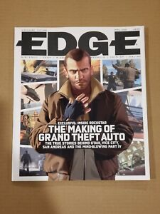 Edge Magazine April 2008 Cover Story: Inside Rockstar The Making Of Grand Theft