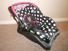 Cosco Light 'N Comfy Disney Infant Safety Car Seat 4-22 lbs w/Rare Minnie Mouse