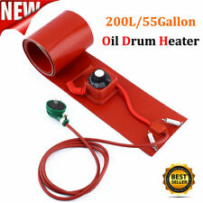 200L/55Gallon 110V 1000W Silicon Rubber Band Heater for Metal Oil Drum Heating