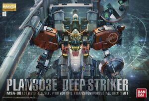 MG Master Grade Gundam MSA-001 Plan303E Deep Striker 1/100 model kit Bandai
