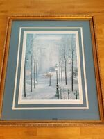 """LIMITED EDITION LITHOGRAPH PRINT BY CHUN """"EARLY MORNING"""" SIGNED, FRAMED,NUMBERED"""