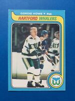 Gordie Howe 1979-80 O-Pee-Chee NHL Hockey Card #175  Hartford Whalers