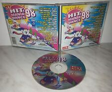 CD HIT MANIA DANCE '98 - D'AGOSTINO - GALA - SKUBA - CRACK