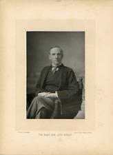 W & D Downey, London, John Morley (1838-1923), homme politique Vintage albumin p
