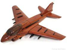 US Navy Grumman A-6E INTRUDER JET DESK SHELF DISPLAY WOOD MODEL