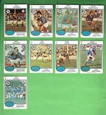#D404.  1975  NEWTOWN JETS  RUGBY LEAGUE CARDS - ALL 9 CARDS