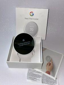 Google Nest Thermostat G4CVZ Smart Thermostat Wifi - Snow  (Unit ONLY)