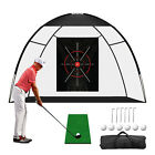 Golf Practice Driving Net Outdoor Indoor Portable Hitting Training Aids Cage