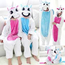 Robe Cosplay Unisex Adult Pyjamas Onesie1d'enfants Kigurumi animaux nuit Licorne