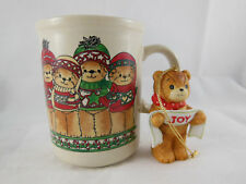Rare Vintage 1980 Lucy & Me Christmas Mug and 1982 Joy Ornament Enesco
