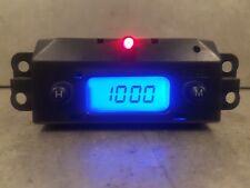 Ford Focus Mk1 1998-2004 Reg Blue Led Digital Time Clock With Red Alarm Led