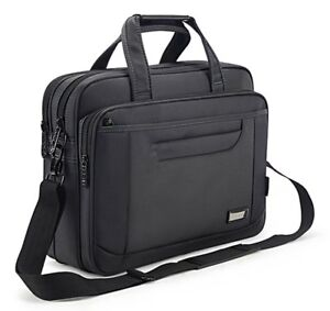 Briefcase Bag Laptop Messenger Bag Large Capacity Handbag Business Office Bag