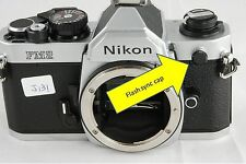 Flash sync cap Nikon Flash sync cap Nikon F4 F5 F6 N90 N90s F100 FT2 camera
