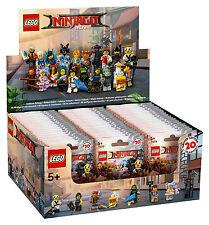IL LEGO NINJAGO Film ™ 71019 / DISPLAY 60 FIGURE/CONFEZIONE ORIGINALE