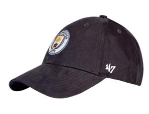 Man City Kid's Hat Fanatics Embroidered Crest Hat - Black - New