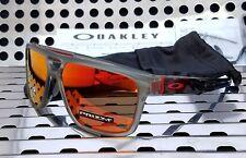 New Oakley CROSSRANGE PATCH 9382-0560 Sunglasses Matte Grey Ink w/ Prizm Ruby