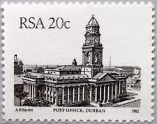 RSA SÜDAFRIKA SOUTH AFRICA 1985 A 612 I Freimarke Definitive Gebäude Architektur