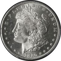 1880-S Morgan Silver Dollar PCGS MS63 Blazing White STOCK
