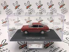 "DIE CAST "" FIAT 850 SPORT COUPE' - 1968 "" + TECA RIGIDA BOX 2 SCALA 1/43"