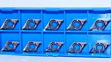 10x DCGT 11T304- AL K10  Wendeplatten für ALU, Geschliffen und Poliert TOP++++++