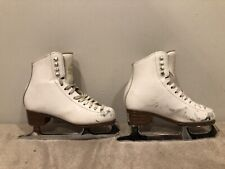 Size 3 1/2B Jackson Artiste #1791 Figure Skating Ice Skates Girls Womens Ladies