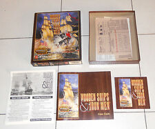 Gioco Pc Cd WOODEN SHIPS IRON MEN The Avalon Hill 1996 in BOX Napoleon Napoleone