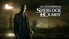 Le Testament de Sherlock Holmes PC Steam Code Key New download region free