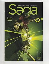 Saga #41 NM- 9.2 Error Copy Image Comics Brian K. Vaughan,Fiona Staples