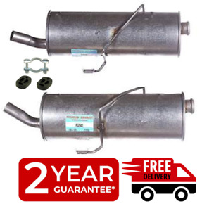 For Peugeot - 206 1.1 1.4 1.6 1998-03 Hatchback Exhaust Rear Back Box +Fittings