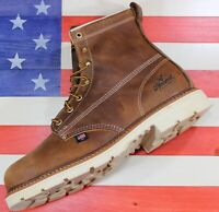 "Thorogood American Heritage 6"" Safety Steel Toe Work FACT 2nd Boot USA 804-4374"