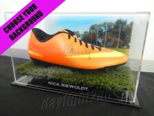 ✺Signed✺ NICK RIEWOLDT Football Boot PROOF COA St Kilda Saints 2018 Guernsey
