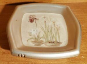 Croscill IRIS AND BULBS Bath Soap dish, Excellent