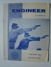 Vietnam War Era US Navy Civil Engineer Magazine A New Panama Canal? Article 1966