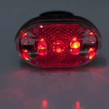 US Waterproof Mountain 9 LED Bike Bicycle Cycles Lamp Safety Tail Rear Lights