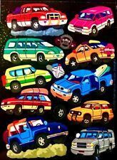 MAXI GLITTERY VAN, PICK UP TRUCK,  SUV Sandylion Stickers - 1 sheet ~RETIRED~