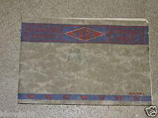 Catalogue meubles laqués voitures d'enfants Kid  Lyon 1933