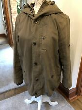 Parka London ~ Olive Green Jacket Size M Shower-proof & Detachable Inner