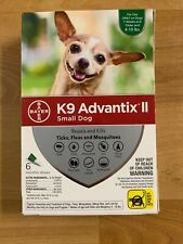 K9 Advantix II for Small Dogs 4-10 lbs, 6 month supply (no Plastic)