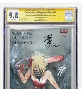 SOMETHING IS KILLING THE CHILDREN 14 👾 TRADE CGC 9.8 SS MOMOKO TYNION Pre-Order