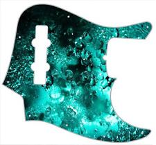 J Bass Pickguard Custom Fender Graphic Graphical Guitar Pick Guard Water Effect