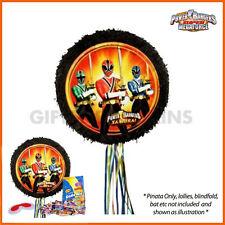 Power Rangers Pull String Pinata Birthday Party Supplies Samurai Ninja Pinyata