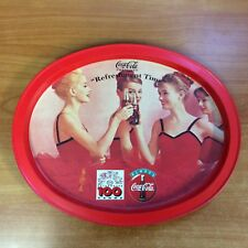 Coca Cola Coke Tin Tray - Excellent Condition