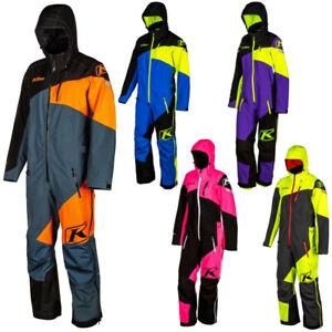 Klim Ripsa K20 Ventilated One Piece Mens Winter Sports Snowmobile Suits