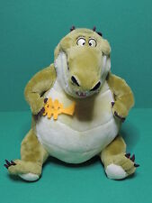 La Princesse et la Grenouille Peluche Louis alligator Disney Nicotoy soft toy