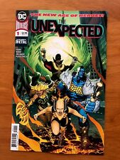 The Unexpected #1 A Dark Knights Metal Vertical Foldout Cover DC 2018 NM+