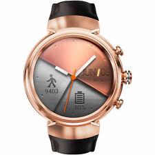 ASUS ZenWatch 3 WI503Q Smartwatch Edelstahl Leder 118 mm Roségold NEU OVP