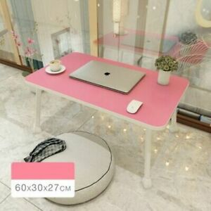 Multifunction Foldable Study Table Laptop Computer Notebook Desk Home Bed Office