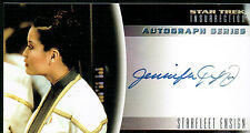 STAR TREK INSURRECTION AUTOGRAPH CARD A8 JENNIFER TUNG