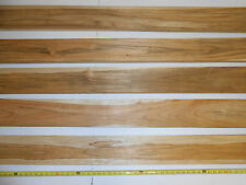 "10 square feet of 3/4 inch thick, PLANED TEAK WOOD 36 to 47"" long x 3"" + wider"